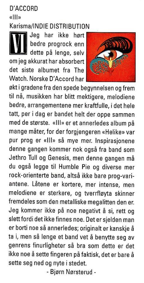 Anmeldelse Scream Magazine