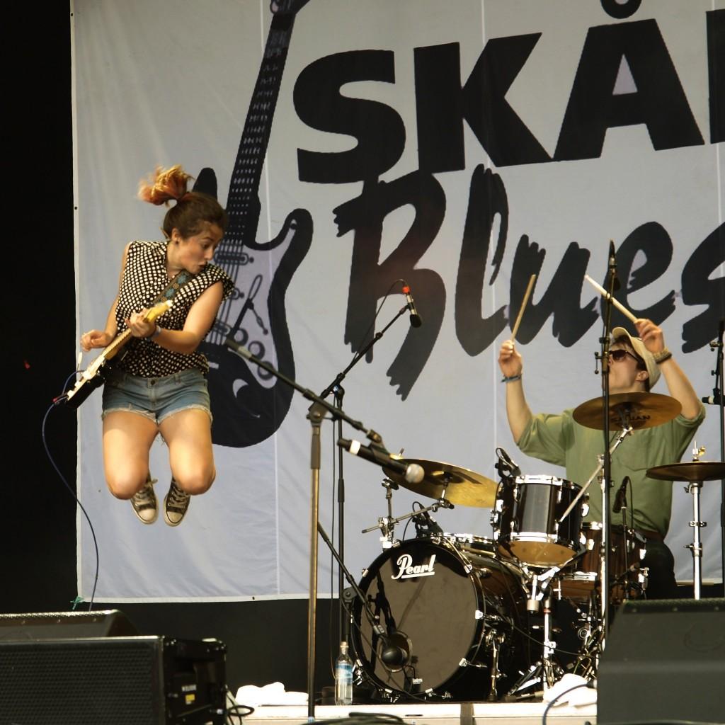 MK's Marvellous Medicine at Skånevik Bluesfestival 2015